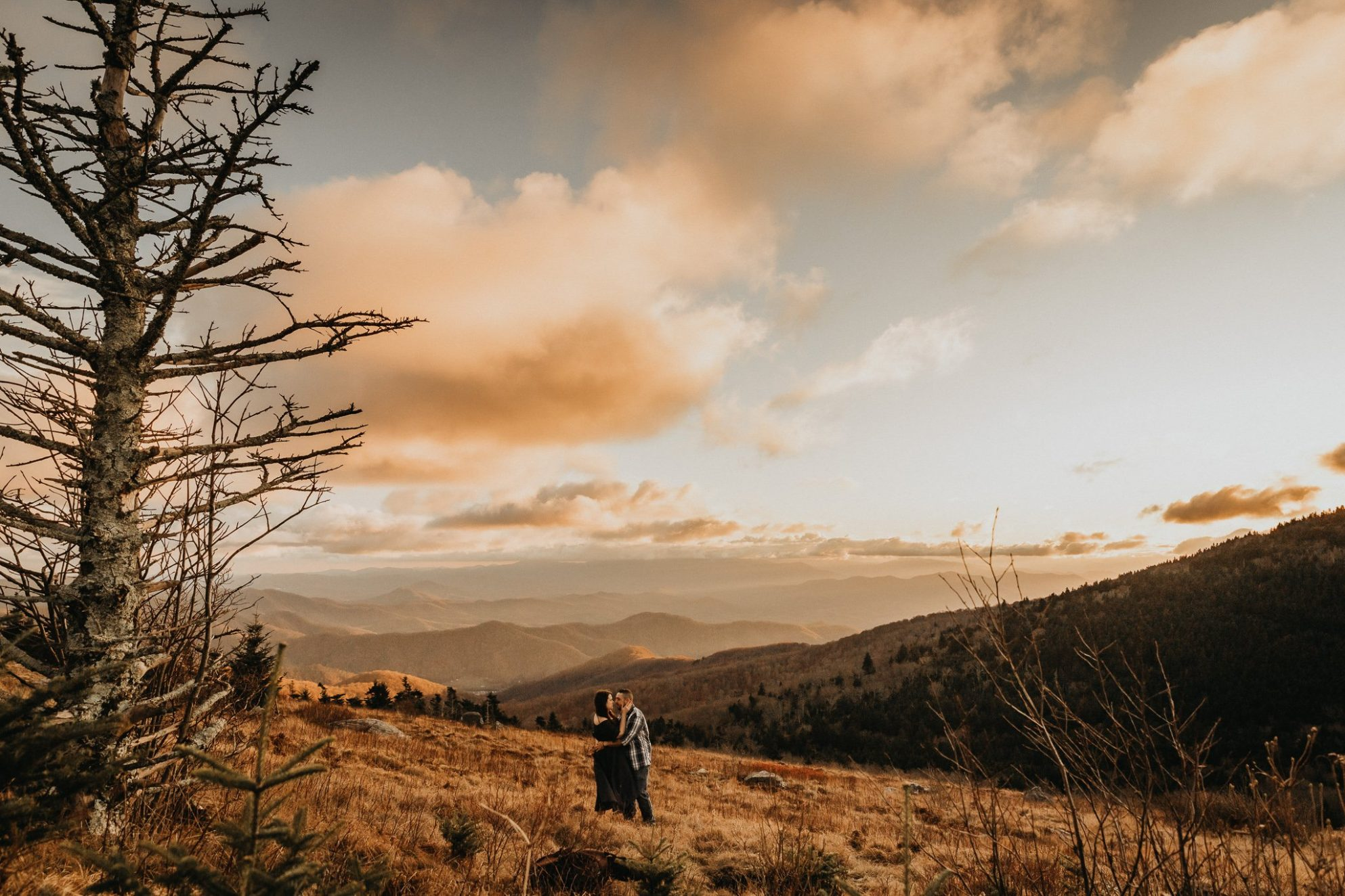 Adventure Engagement Photography Roan Mountain