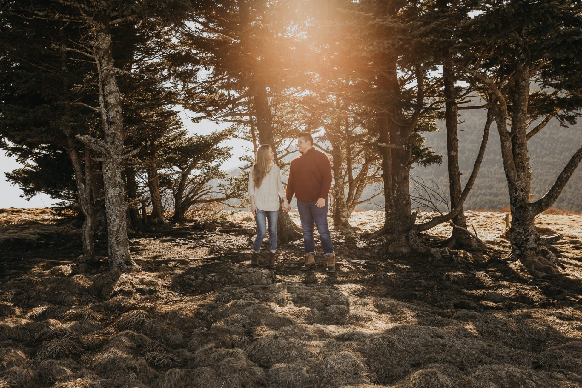 Adventure Engagement Session Photography Roan Mountain