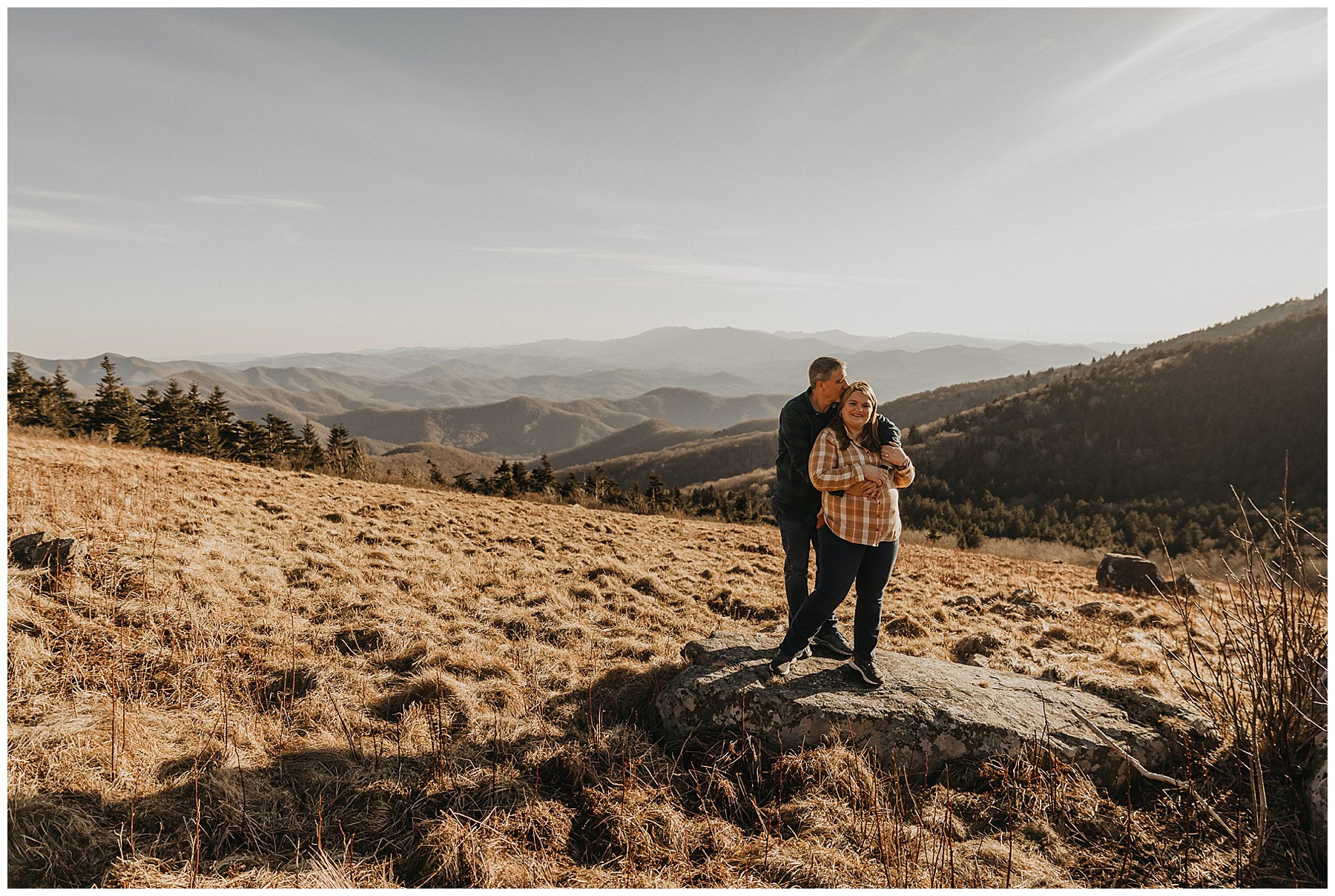 Roan Mountain Adventure Engagement Session