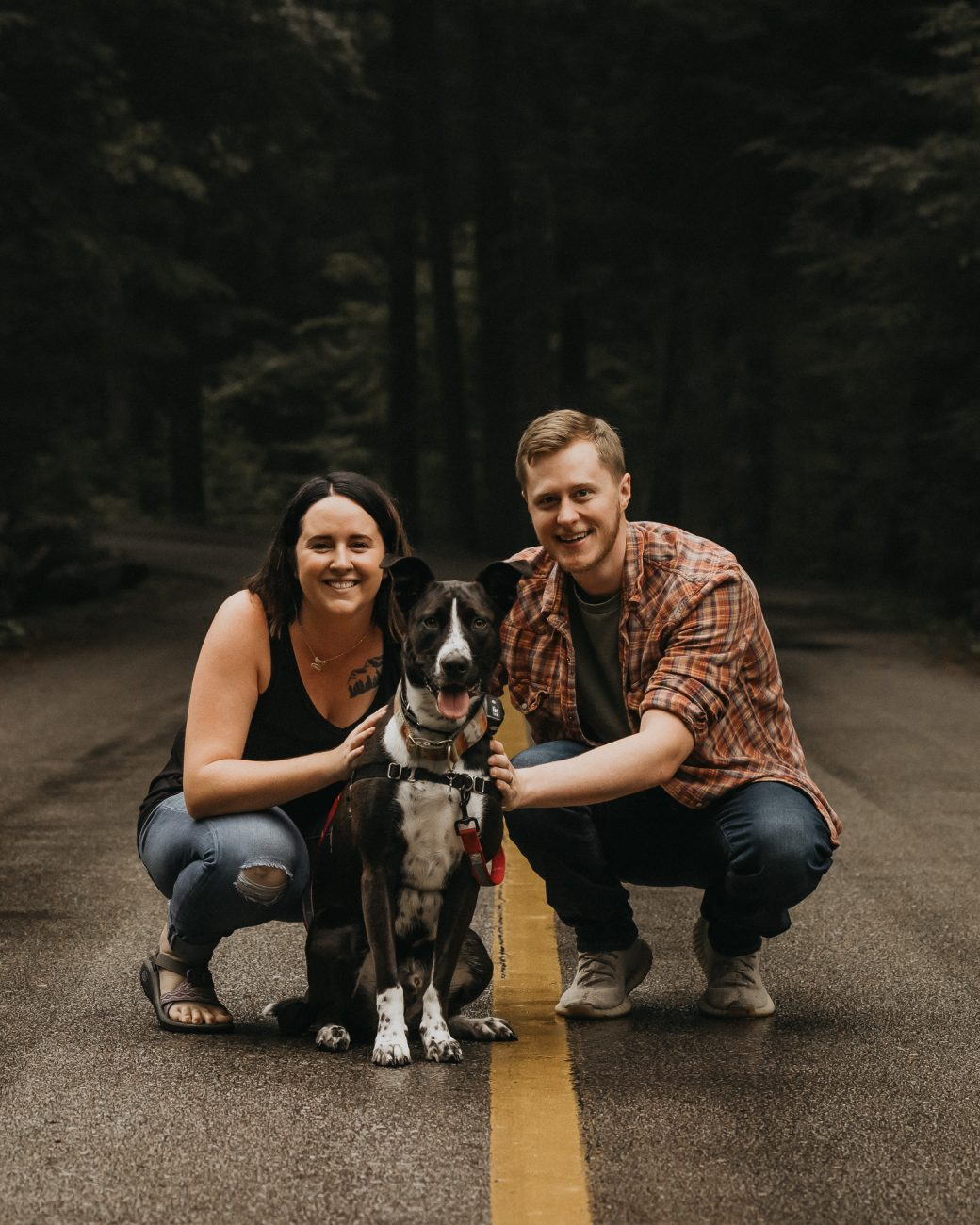 Taylor Engagement Session at Elkmont and Spence Cabin Great Smoky Mountain National Park Hunter Kittrell Photography 2021
